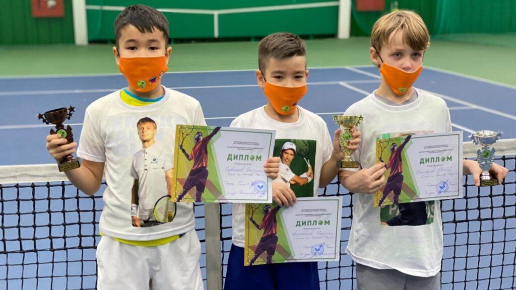 "Winners of the ""Orange Ball in Almaty"" tournament"